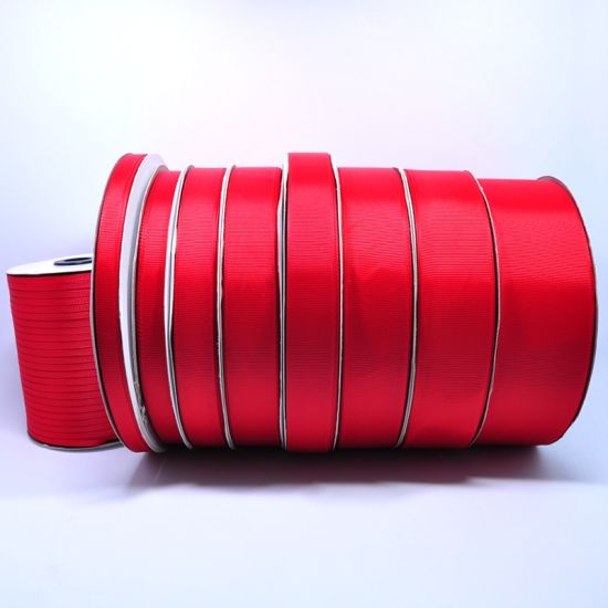 Manufacture High Quality Good Color Fastness Grosgrain Ribbon for Bow