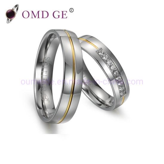 China Wedding Jewellery Rings Online Titanium Womens Wedding Gift