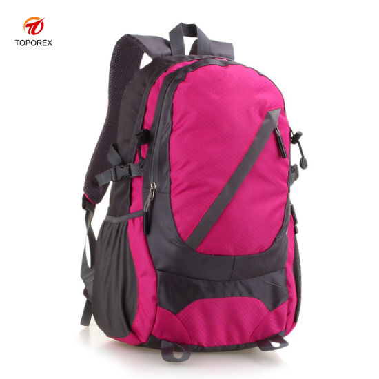 Wholesale Sports Outdoor Travel Waterproof Nylon Hiking Backpack Bag