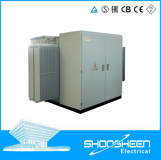 Delixi Wind Power Electrical Substation with Transformer 750kVA