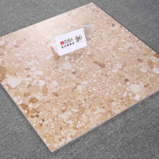 600*600 6GM322 Archaize Inkjet Hemp Stone Brick Is Used for Indoor and Outdoor Ground Ceramic Tile