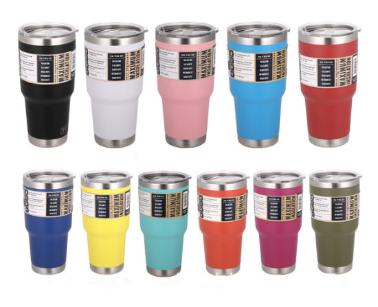 6057d932611 Stainless Steel Travel Mug Insulated Vacuum Tumbler China Yeti Price Cup  pictures & photos