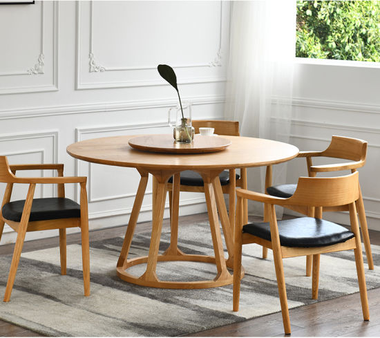 Furniture Round Wood Dining Table