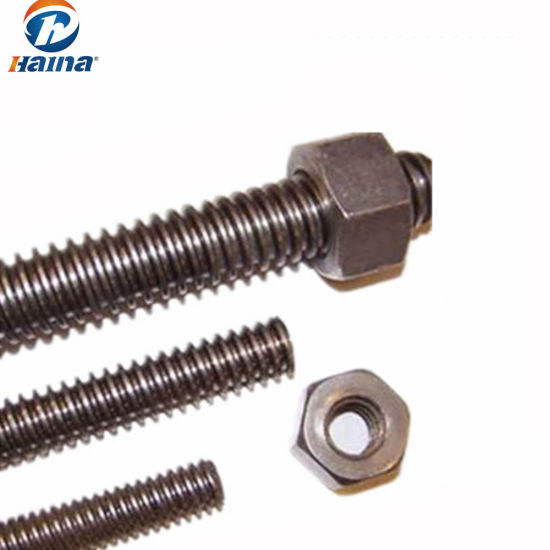 China Din975 Din976 High Strength Acme Threaded Rod China Threaded Rod Acme Threaded Rod
