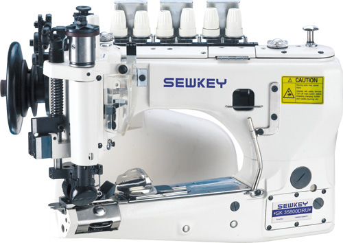 Sk35800dur Three-Needle Feed-off The Arm Double Chain Stitch Machine