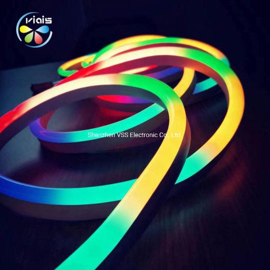 24V 5050 RGB Dream Color Addressable LED Neon Flex 12V