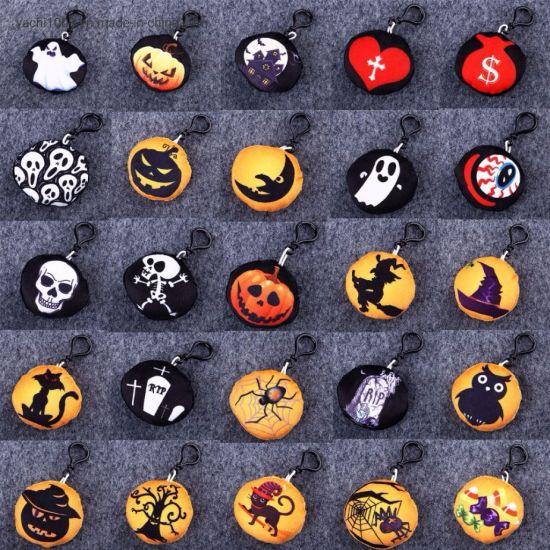 Halloween Plush Keychain Toys Key Bag Pendants Dolls Halloween Children's Gift