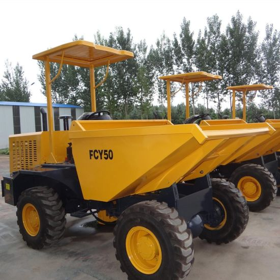 5tons Self Loading Diesel Engine Site Dumper pictures & photos