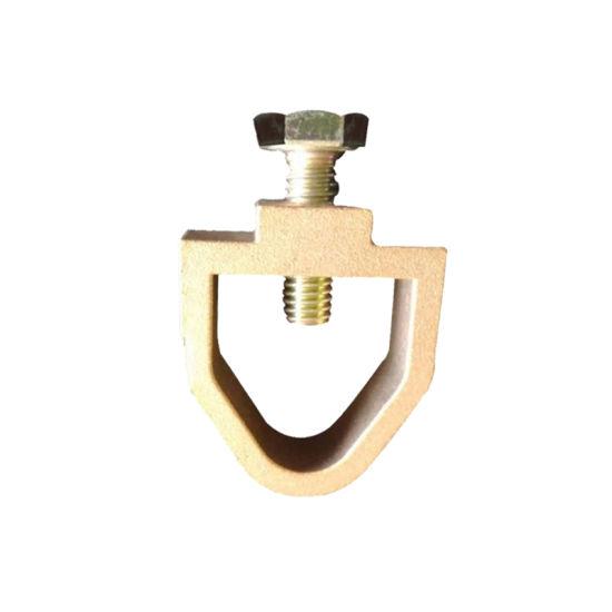 Brass Anti-Thunder Grounding Rod Clamp for Price