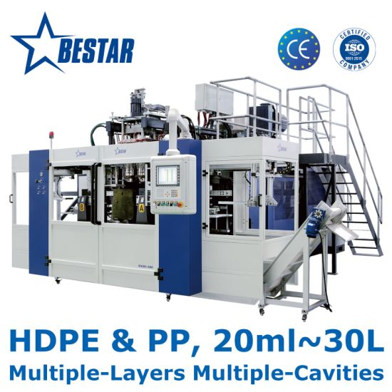 B10d-480 Bestar Automatic Blow Molding Machine for HDPE PP