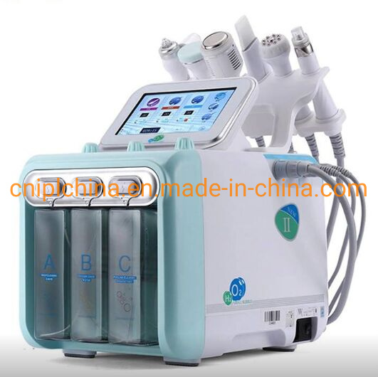 Portable 6 in 1 Skin Peeling Dermabrasion Water Facial Rejuvenation SPA Machine