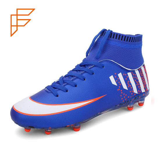 72b6c3fe0 Brand TPU Football Shoes Custom Made Cleats Men′s Soccer Boots. Get Latest  Price