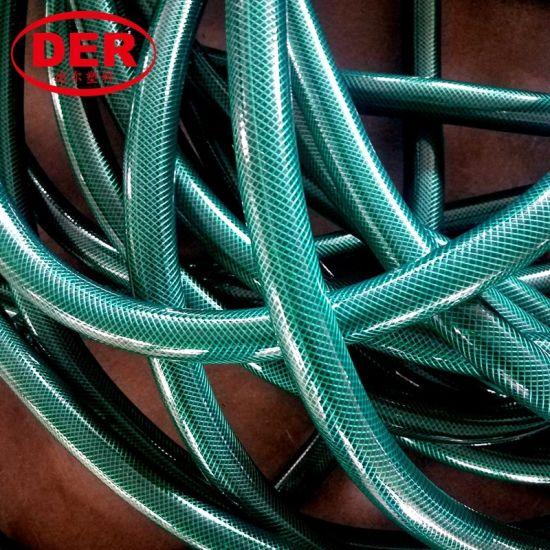 PVC Plastic Garden Hose/Fiber Braided Reinforced Warter Soft Hose Pipe