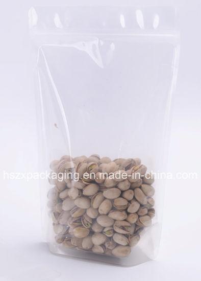 Custom Transparent Plastic Dry Food Packaging Bag, Dry Food Packing