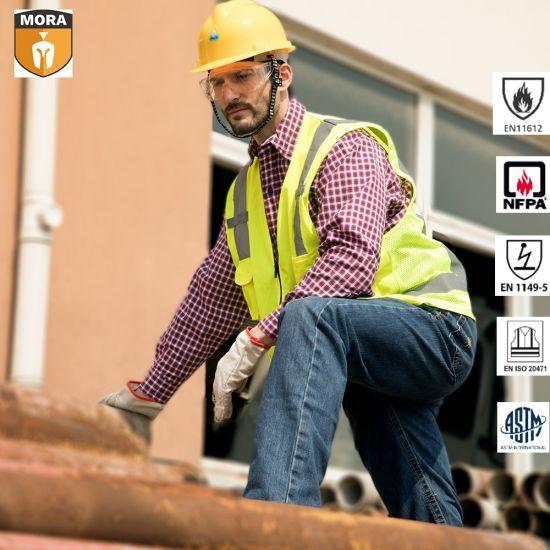 100% Fr Cotton Workwear Safety Reflective Vest