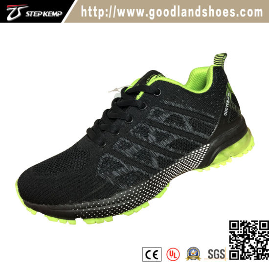 Classic Fashion Flyknit Running Sports Men Shoes with Air Cushion 2179