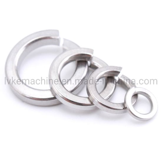 High Quality Stainless Steel 304 316 Lock Spring Washer Flat Washer Customized Washer pictures & photos
