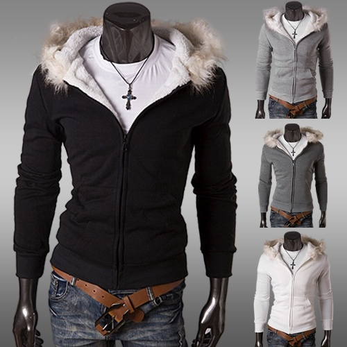Winter Thick Warm White Cotton Men Jacket/Coat pictures & photos
