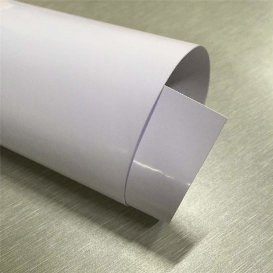 Eco-Solvent Printing PVC Adhesive Vinyl 100mic with 140g Paper pictures & photos