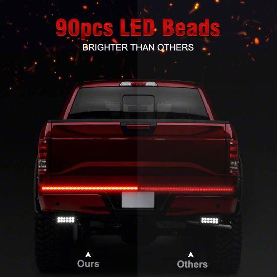 5 Function Led Truck Tailgate Light Bar Strip Light Running Turn Signal Brake Reverse Light For Jeep Dodge Ford F 150 Pickup Trailer