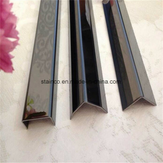 Customized Size And Color Stainless Steel Listello Tile Trim Border