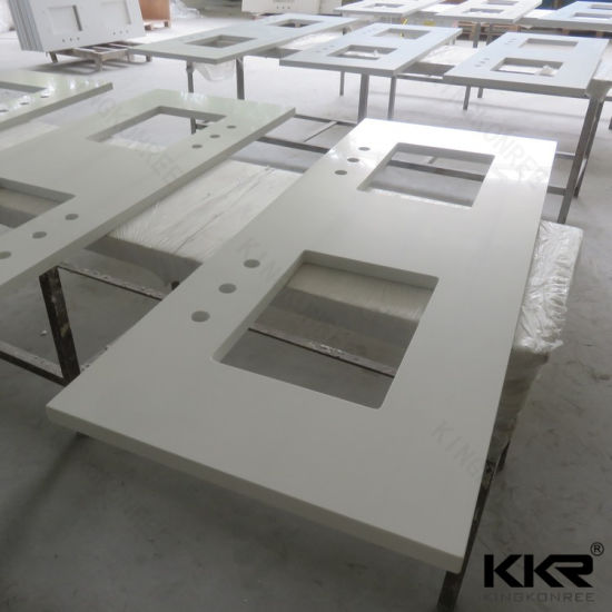 beautiful countertops quartz prefabricated leading white china pure wholesale countertop