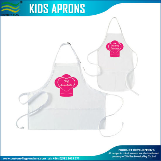 Custom Cotton Kitchen Cooking Kitchen Apron with Pocket (B-NF30F19004) pictures & photos