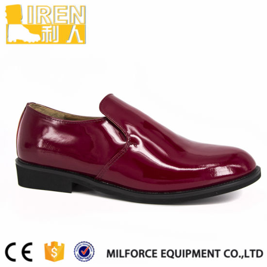 Selected Materials Military Red Chief Shoes Men