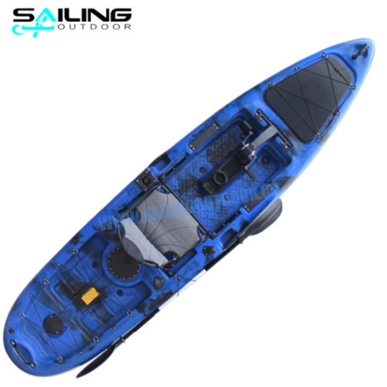 13FT New Water Bike Pedal System Kayak Boat Propel Canoe with Seat for Sales
