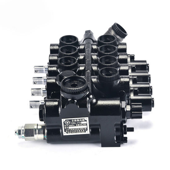 Hot Sale 1-3.5t Forklift Hydraulic Control Valve 2 Way