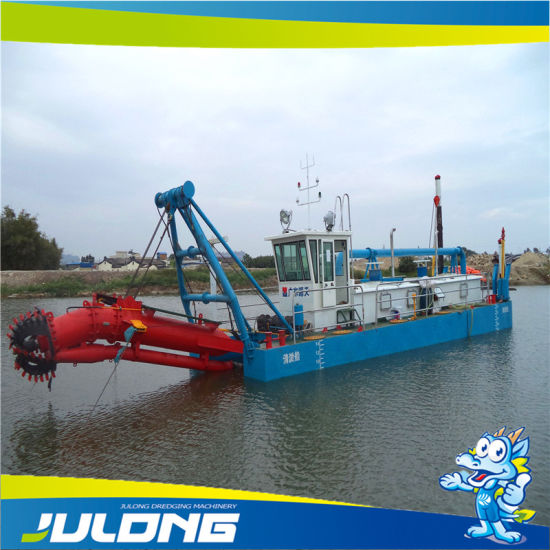 Hot Selling Julong River Dredger / Cutter Suction Dredger with Low Price
