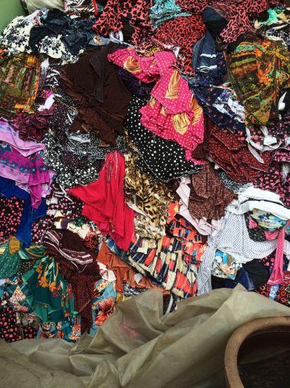 Textile Farbics Materials Stocks