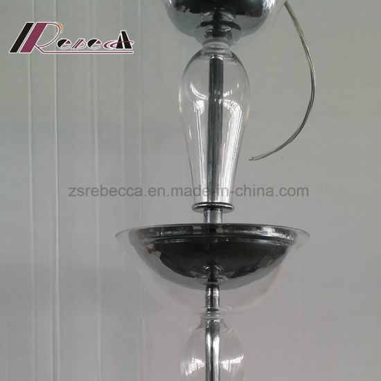 Modern Fabric Shade Glass Pendant Lamp for Luxury Hotel Room pictures & photos