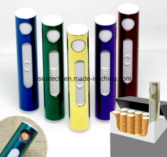 USB Memory Stick Rechargeable Electric Metal Lighter pictures & photos
