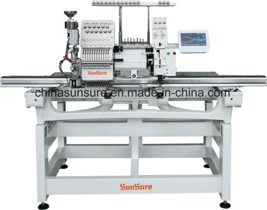 Multi-Function 1+1 Mixed Embroidery Machine (Flat+Coiling)