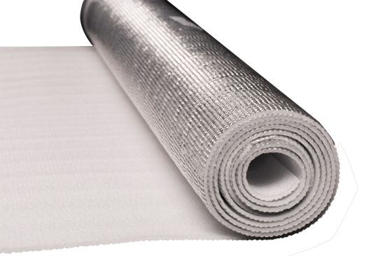 Aluminum Foil Backed EPE Foam Thermal Insulation Radiant Barrier