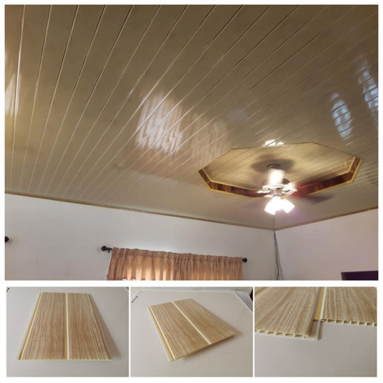 High Quality Engineered Indoor Plastic Composite PVC Ceiling Paredes De PVC