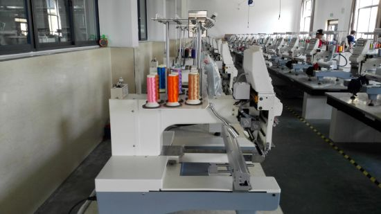 Single Head 12 Needle Embroidery Sewing Machinery for Garment and Cap