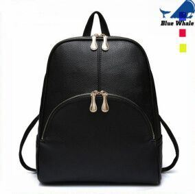 Wholesale Leather Backpack Bags Waterproof Travelling PU Backpack pictures & photos