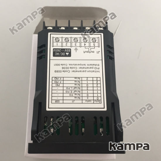 48*24mm Intelligent Programmable Pid White LED Digital Display Industrial Temperature Controller (XMT7100) pictures & photos