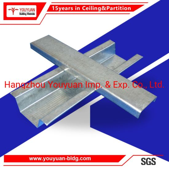 Plasterboard Suspension Steel Furring Channel Ceiling System