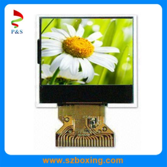 1 46-Inch Color OLED Display with 128 X 128 Pixels