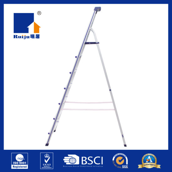 Professional Alumnium Ladder Step with Tool Tra pictures & photos