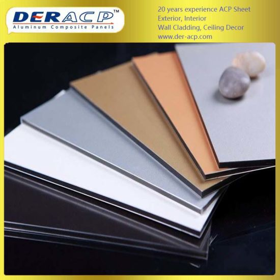 4mm/0.21mm Matte Aluminum Composite Panel for Sign Board