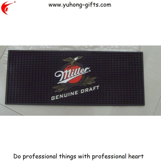 Lipton Promotional Bar Mat for Promotion (YH-BM006) pictures & photos