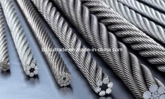 China 6mm Hot DIP Galvanized Steel Wire Rope for Export - China Wire ...