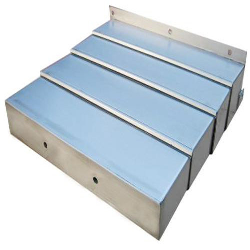 Load Bearing Steel Plate Protection Machine Accordion Track Metal Cover