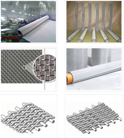 China 300 500 Micron 904L Stainless Steel Woven Wire Mesh - China ...