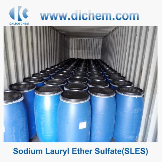Sodium Lauryl Ether Sulfate SLES 70% for Anionic Surfactant