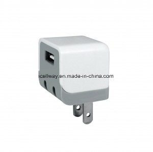 Foldable Plug USB Wall Charger Power Adapter with Folding Pin